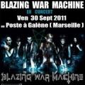 Blazing War Machine en concert