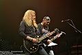 Saxon + Crime of passions en concert