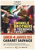 The Twinckle Brothers et Trebunie Kuti en concert