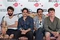 Interview du groupe Feu! Chatterton dans le cadre du festival Musilac 2016 en concert