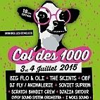 Le festival Col des 1000 : concerts et billetterie