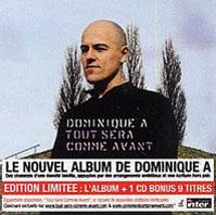 Dominique A - TOUT SERA COMME AVANT