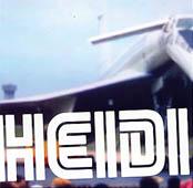 Heidi : First Commercial flight