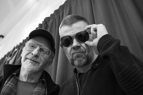 Graham Parker & Éric Naulleau en concert
