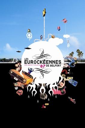 Marilyn Manson + Wu-Tang Clan + Les Rita Mitsouko + Amy Winehouse + Young Gods vs Dälek + Archie Bronson Outfit (Eurockéennes de Belfort 2007)  en concert