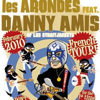 Daddy-O-Grande avec Les Arondes en concert