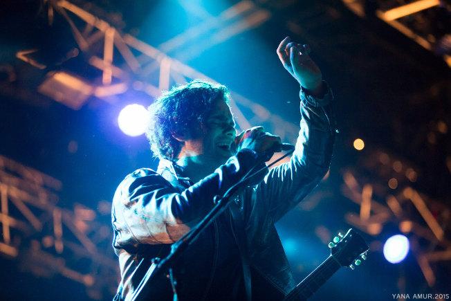 Black Rebel Motorcycle Club (Festival Musiques en Stock 2015) en concert