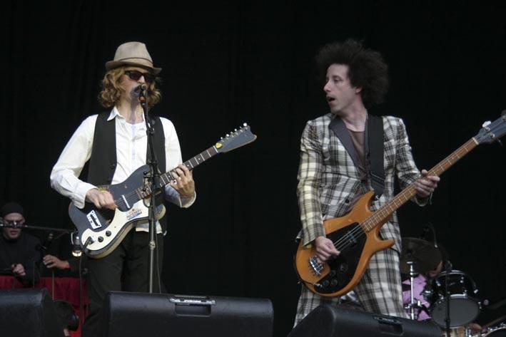 Beck (Rock en Seine 2006) en concert