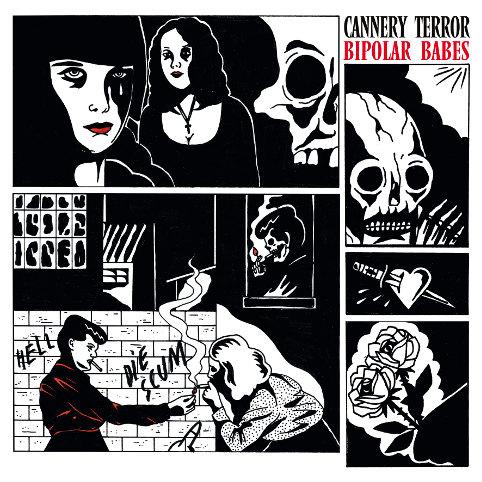 Interview du groupe Cannery Terror pour la sortie du EP Bipolar Babes...  en concert