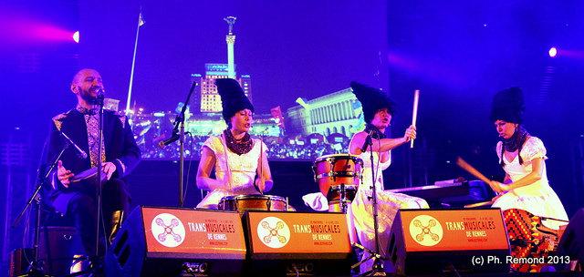 Dakhabrakha (Transmusicales de Rennes 2013) en concert