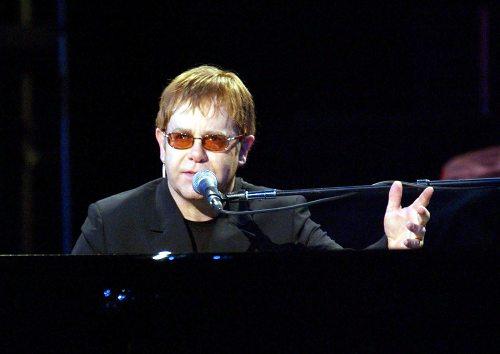 Elton John & Ray Cooper en concert