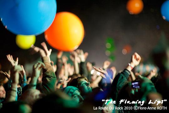 The Flaming Lips + The National + Archie Bronson Outfit + Josh T. Pearson + Serena Maneesh + Thus:Owls (La Route du Rock 2010) en concert