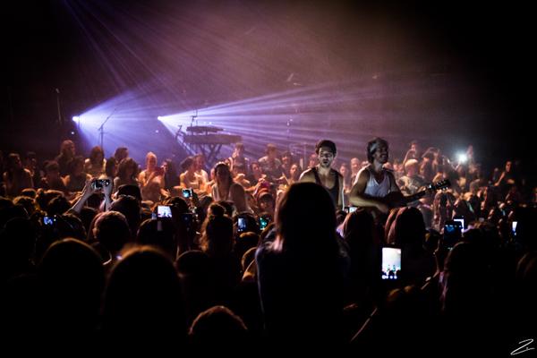 Fréro Delavega  + Namaste en concert