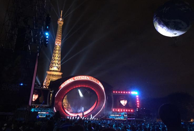 Ed Sheeran, Elton John, Måneskin, Angélique Kidjo, Black Eyed Peas, Christine and The Queens, Doja Cat, BTS... (Global Citizen Live) en concert
