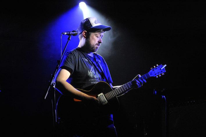 H-Burns (Festival Hibernarock 2017) en concert