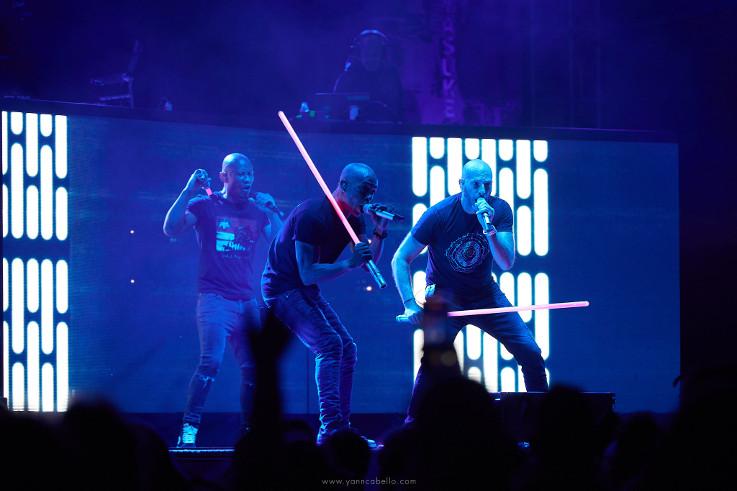 IAM, Georgio, Mustang et The Doug (Festival Europavox 2021) en concert