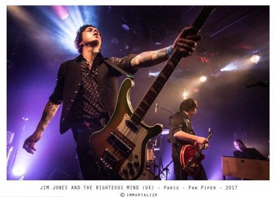 Jim Jones & The Righteous Mind en concert