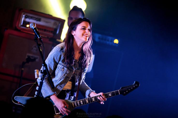 Laura Cox Band + Hell's Strippers en concert
