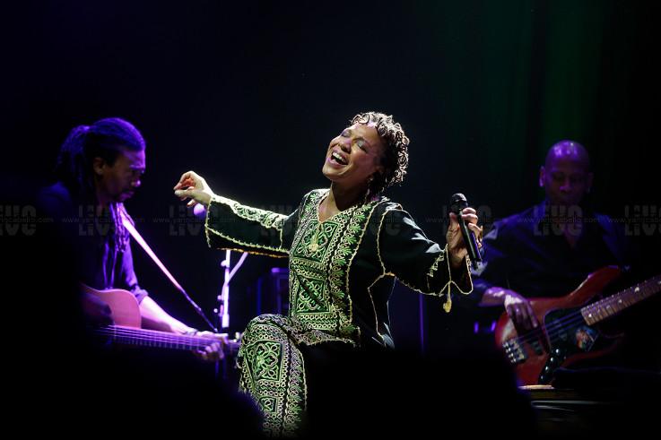 Lisa Simone + Alain Bonnefont en concert