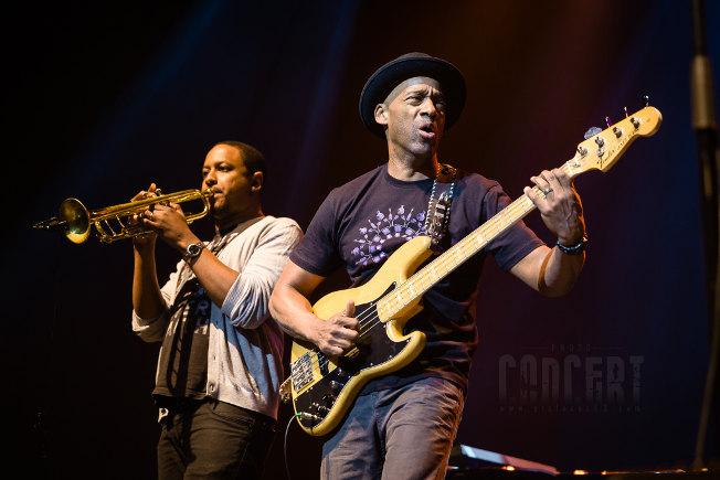 Marcus Miller (reportage photo) en concert