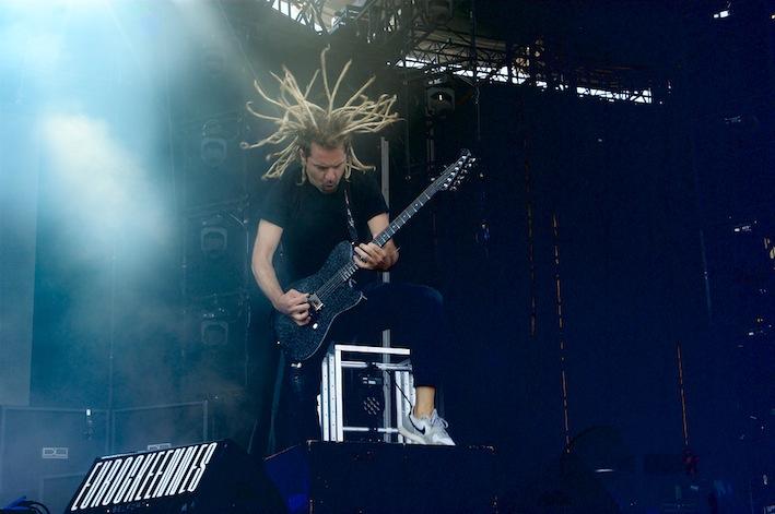 Mass Hystéria + Kate Tempest + Weezer + Jain + Frank Carter and the Rattlesnakes + Angèle (Eurockéennes de Belfort 2019) en concert