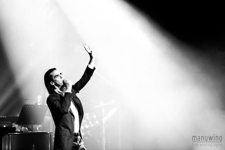 Nick Cave et Warren Ellis en concert