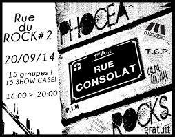(ma) Rue du Rock #2 - Festival Phocea Rocks 2014 : Thousand & Ramirez, Devilish Piranhas, La Coupure, No Country, Malin, La Sérénade, Lee Zeirjick, Mutacion Nacion, Binaire en concert