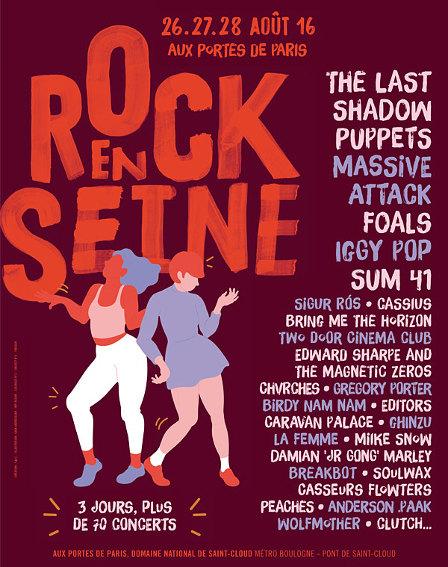 Editors (Festival Rock en Seine 2016) en concert