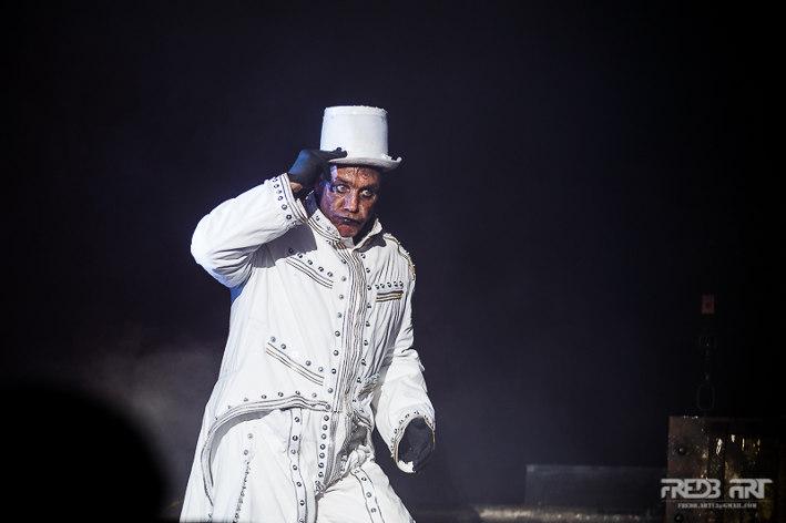 Rammstein (Festival de Nîmes 2017) en concert