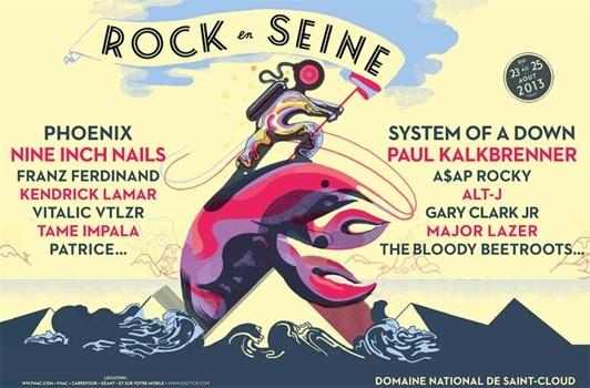 Festival Rock en Seine 2013 - édito en concert