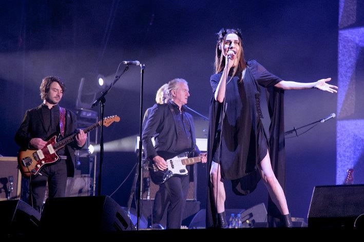 PJ Harvey (Festival Rock en Seine 2017) en concert