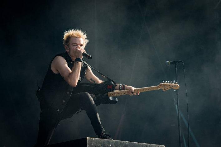 Sum 41 (Festival Rock en Seine 2016) en concert