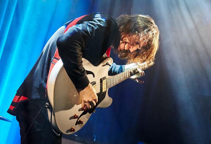 The Mystery Lights en concert