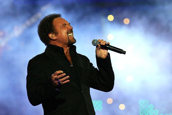 Tom Jones  en concert