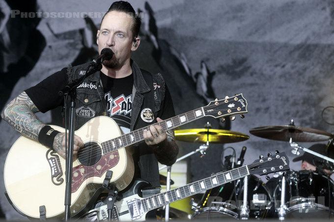 Volbeat + Rammstein (Download festival France 2016) en concert