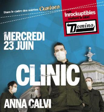 Clinic + Anna Calvi en concert