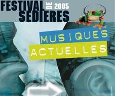 Jean-Louis Murat + Polar + Karin Clercq (Festival de Sédières 2005) en concert