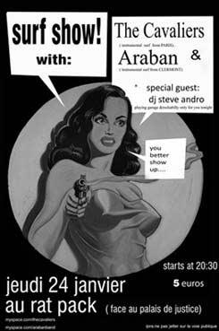 Araban + The Cavaliers en concert