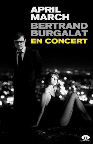 Bertrand Burgalat + April March + La Position Du Tireur Couché en concert
