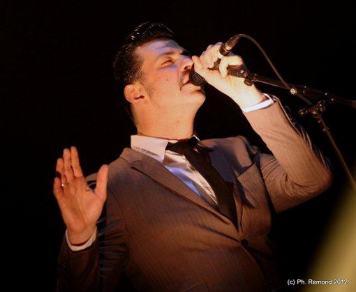 Black Strobe (Trans Musicales de Rennes 2012) en concert