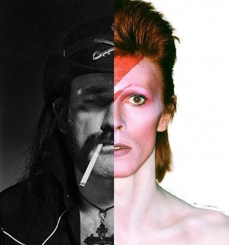 Nous avons décidément une chance incroyable (ou une petite épitaphe pour Lemmy & David)           [Bowie / Motörhead] en concert