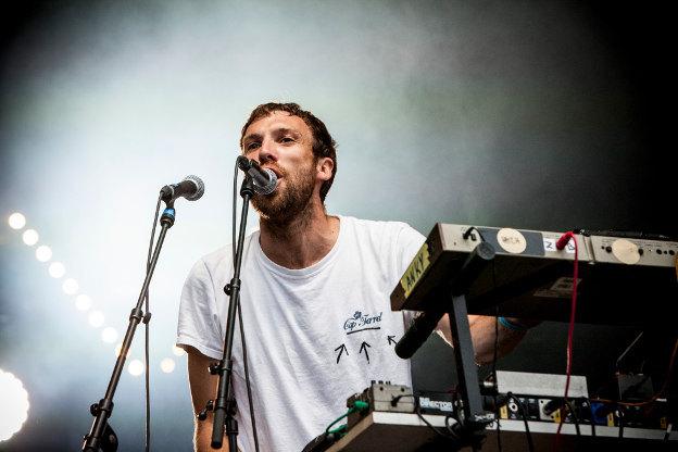 Cheveu (Rock en Seine 2014) en concert