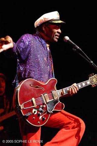 Chuck Berry en concert