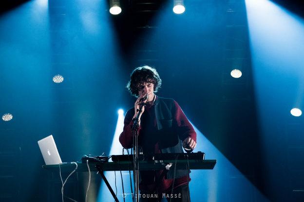 Cosmo Sheldrake (Trans Musicales de Rennes 2014) en concert
