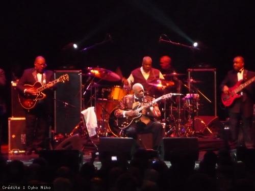 BB King + Robin McKelle en concert