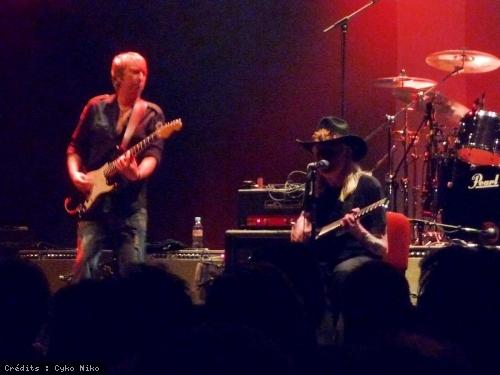 Johnny Winter + Warren Haynes en concert