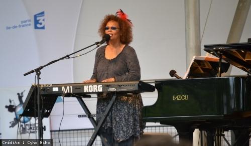 Tania Maria (Paris Jazz Festival) en concert