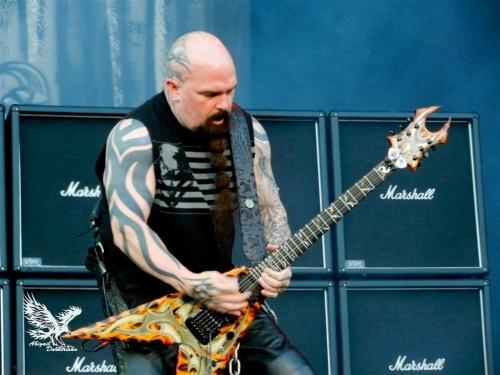 Sister + Ghost + Slayer + Metallica SONISPHERE 2ème jour en concert