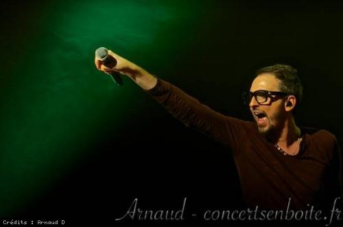 Christophe Willem en concert