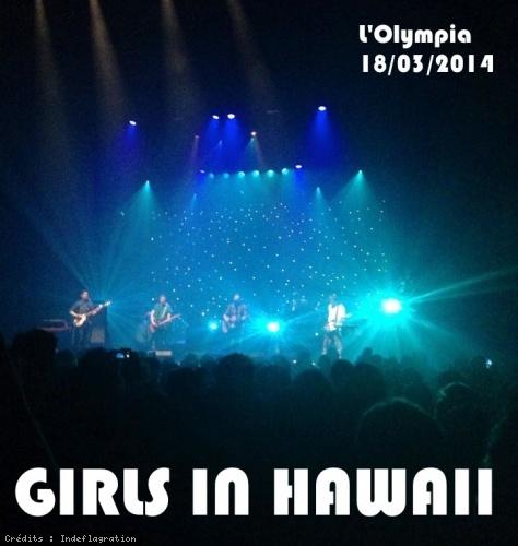 Girls In Hawaii en concert